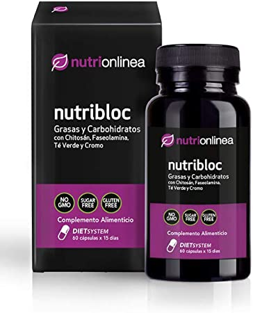 Nutrionlinea Nutribloc 144003, Complemento Alimenticio Grasas ...