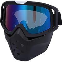Vbestlife Gafas de Ciclismo Seguridad al Aire Libre Gafas de protección Ocular Anti-Viento Gafas de protección Ocular Anti-Viento Gafas Ajustables para Esquiar Ciclismo Montar