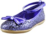 The Doll Maker Metallic Glitter Strap Flat Shoes - FBA1511115E-8