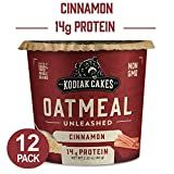 Kodiak Cakes Instant Protein Cinnamon Oatmeal in a Cup, 2.12oz (Pack of 12)