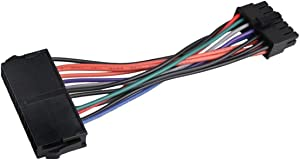 NEORTX 24 Pin to 14 Pin PSU Main Power Supply ATX Adapter Cable Plug and Play for Lenovo IBM PC and Server