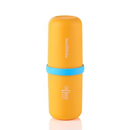Outdoor 3 in 1 Multifunctional Capsule Shaped Wash Cup Portable Mouthwash  Bottle Business Travel Toothbrush Storage 8c92d4e3f3ae9