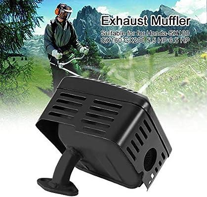 Sistema de silenciador de escape con protector térmico, Sistema de ...