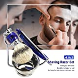 Anself 4 In 1 Men's Deluxe Facial Shaving Set Kit