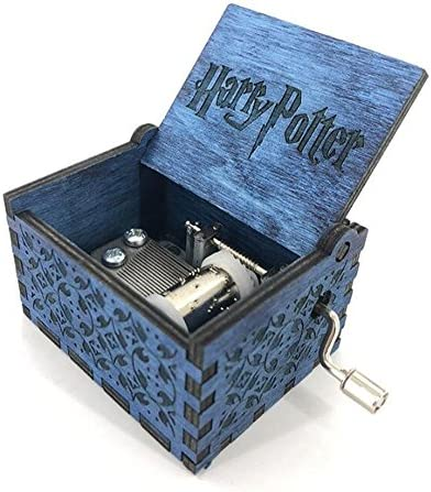Cuzit Caja musical de madera con manivela de Harry Potter: Amazon ...