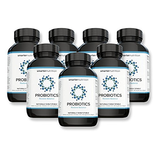 Smarter Probiotics - Superior Digestive & Immune Support from 100% Soil-Based Probiotic (7 Month Supply) by Smarter Nutrition