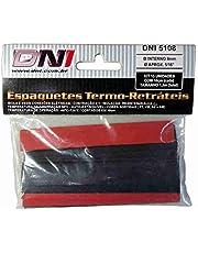 DNI, 5108, Espaguete Termo Retrátil 8 mm Contração 2.1 - Kit 10 pcs