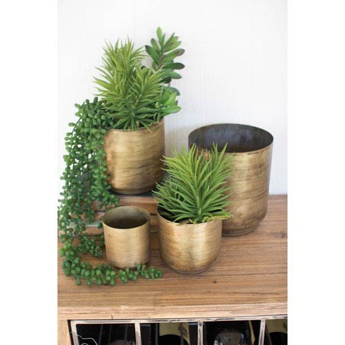 Brass Flower Pot - 1