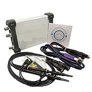 4 in 1 Multifunctional PC USB Virtual Digital Oscilloscope+Spectrum Analyzer+DDS+Sweep Signal Generator 60M 200MS/s