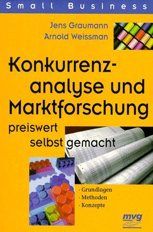 Konkurrenzanalyse und Marktforschung preiswert selbst gemacht