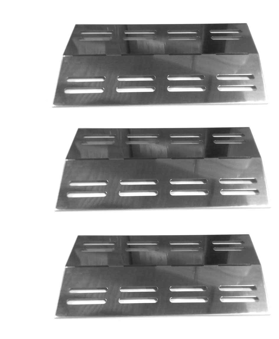 Members Mark Regal 04 CLP, Patio Chef SS42, SS54, SS72LP, SS72NG, Charbroil 463742111, 3BENDLP Stainless Steel Heat Shield(3Pack) by bbqGrillParts (Image #1)