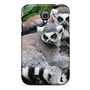 Defender Case For Galaxy S4, Lemurs Pattern