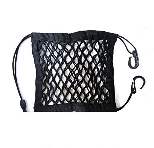 RIRI Car Universal Net Pocket Two-Story Storage Net Between Two Seats Multifunctional Storage Bag: Sports & Outdoors