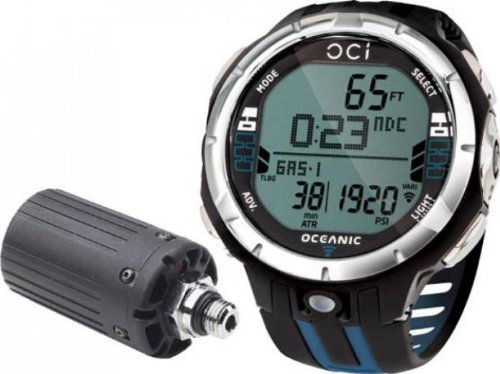 Oceanic OCi Wrist Wireless Air-Integrated Dive Computer Complete