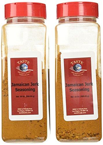 Taste Specialty Foods, Jamaican Jerk Seasoning, 20-Ounce Jars (Pack of 2)