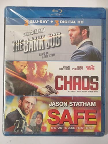 The Bank Job/Chaos/Safe 3- Blu-ray Disc/3 Digital HD Copy Set (Blu-ray) (2014...