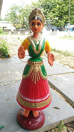 Kondapalli Dancing Doll – 2 ft Fiber