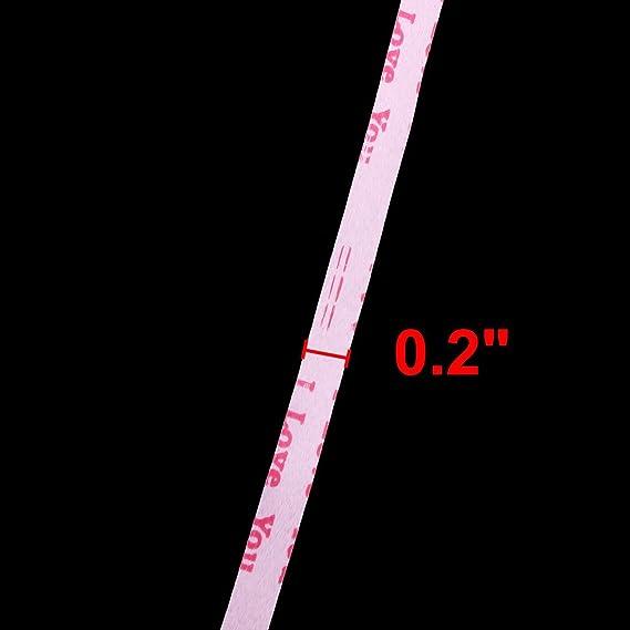 Amazon.com: Impresión de la letra de Cadena Globo eDealMax poliéster Festival Envoltura de Regalo cuerda atada Rollo de Cinta rosa 100 yardas: Health ...