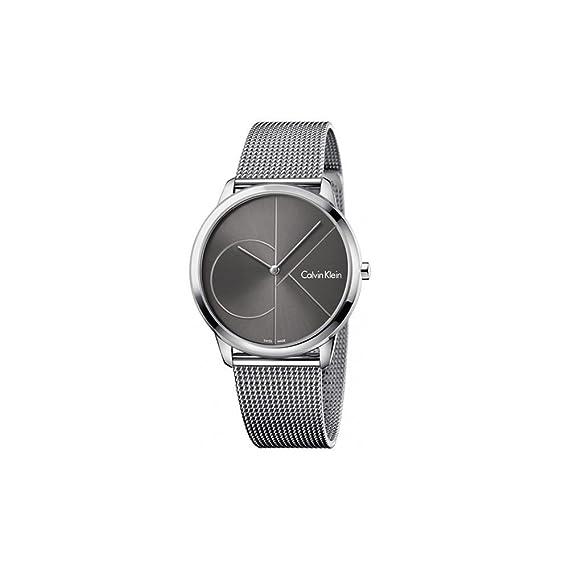Calvin Klein Reloj Analogico para Hombre de Cuarzo con Correa en Acero Inoxidable K3M21123: Amazon.es: Relojes