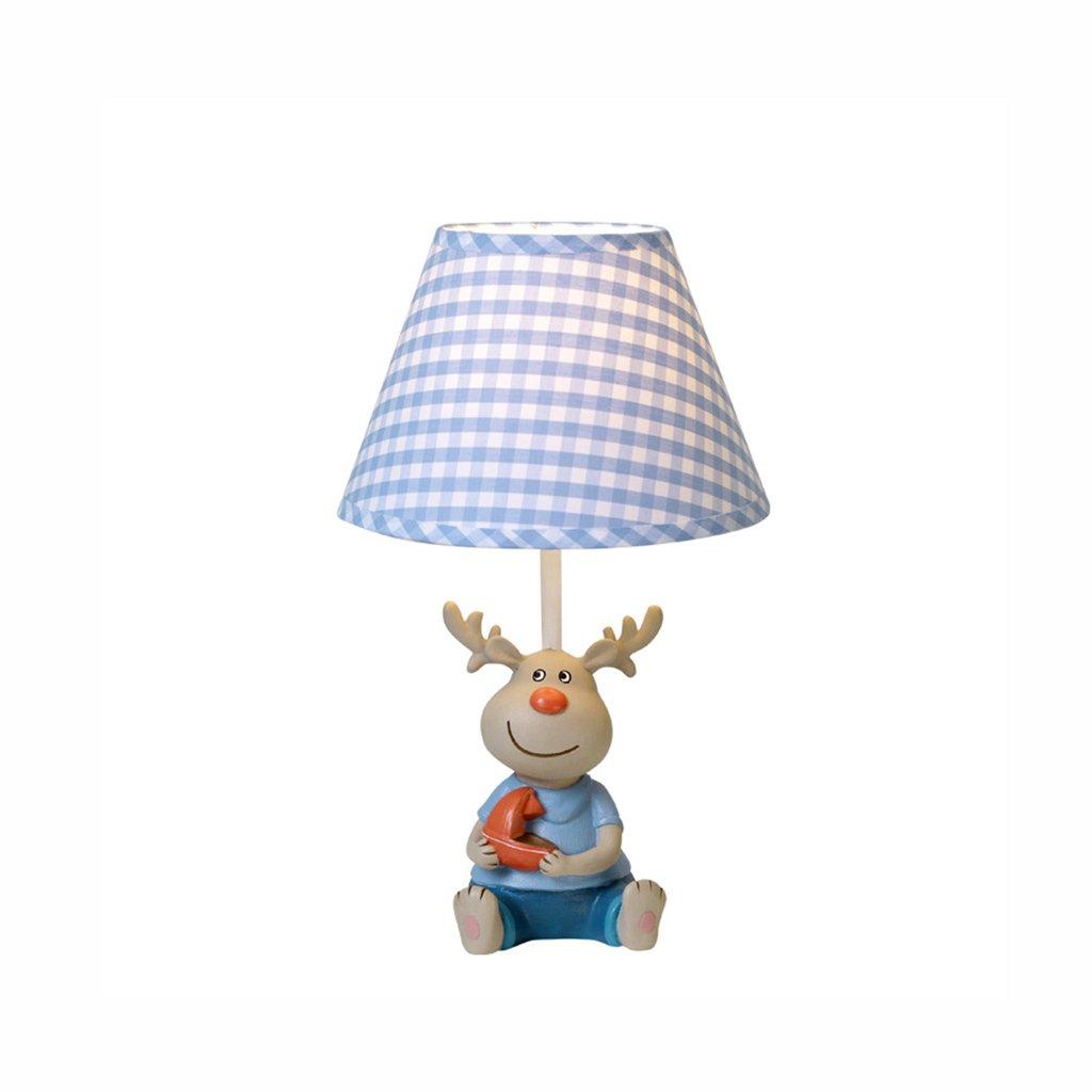 AJZGF Nordic creative lamp Moderne kreative Tischlampe, Kinderzimmer dekorierte Tischlampe, Harzlampe. Table lamp (Größe   Small)
