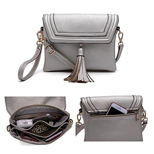 Style Crossbody Bag Grey Strategy Tess q0Czq