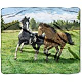 is clayton - Horse Throw Wilderness Collection Featuring Persis Clayton Weirs'