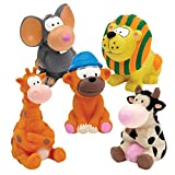 Zanies Latex Dog Toys Pre-Packs, 5 Medium Pieces