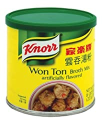 Add rich, authentic flavor to Chinese dishes with Knorr Won Ton Broth Mix, made with carefully selected ingredients for big flavor. Easy to use and quick to dissolve, the mix adds a rich, deep flavor to soups, stews, sauces, gravies,...