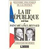 3ÈME RÉPUBLIQUE POINCARÉ/REYN