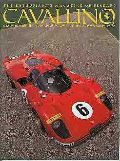 Cavallino The Magazine For Ferrari Enthusiasts Number 72, 1993 - Cavallino Magazine