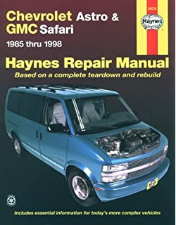 Chevrolet astro gmc safari mini van 1985 2005 haynes repair chevrolet astro gmc safari 1985 thru 1998 haynes repair manual based on fandeluxe Gallery