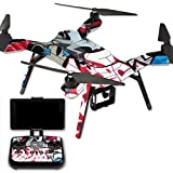 MightySkins Protective Vinyl Skin Decal for 3DR Solo Drone Quadcopter wrap cover sticker skins Graffiti Mash Up