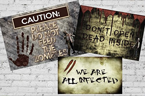 Zombie Party Supplies and Decorations (Posters) (Zombie Decorations Ideas)
