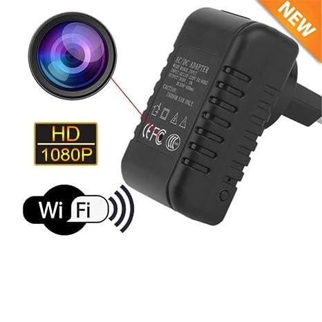 Cámara Oculta con cámara espía WiFi, Full HD 1080p WiFi A1 ...
