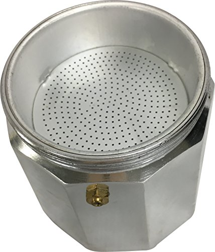 Wee's Beyond 7526-09 Brew-Fresh Aluminum Espresso Maker, 9 Cup, Silver by Wee's Beyond (Image #2)'
