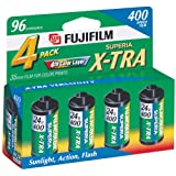 Fujifilm 1014258 Superia X-TRA 400 35mm Film -4 Pack