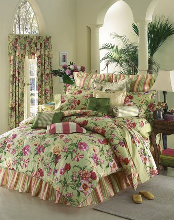 Thomasville Queens Gate Shirred Bed Ruffle - 14in Drop - Full