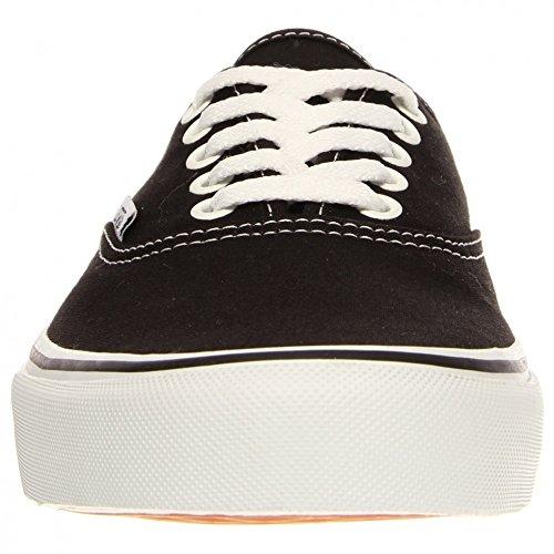 Vans Authentic, Zapatillas de Tela Unisex negro blanco