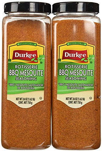 Durkee Rotisserie Seasoning Barbeque Mesquite Style, 26-Ounce Containers (Pack of 2)