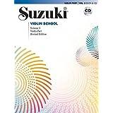 Suzuki Violin School, Vol 3: Violin Part, Book and CD