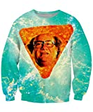 Dorathy Cool 3D Hoodie Pullovers Sweatshirts Danny DeVito in Nacho Cheese Flavor Sweat Shirt Hipster T-Shirt
