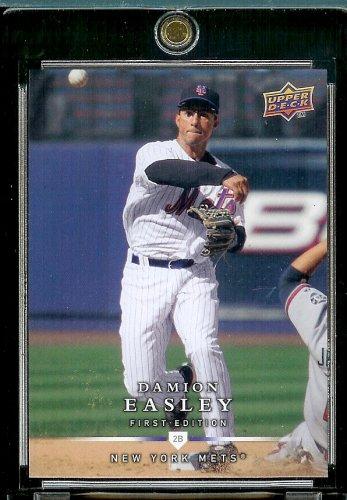 Pont supérieur première édition 2008#131 Damion Easley Mets Baseball Card à fixer