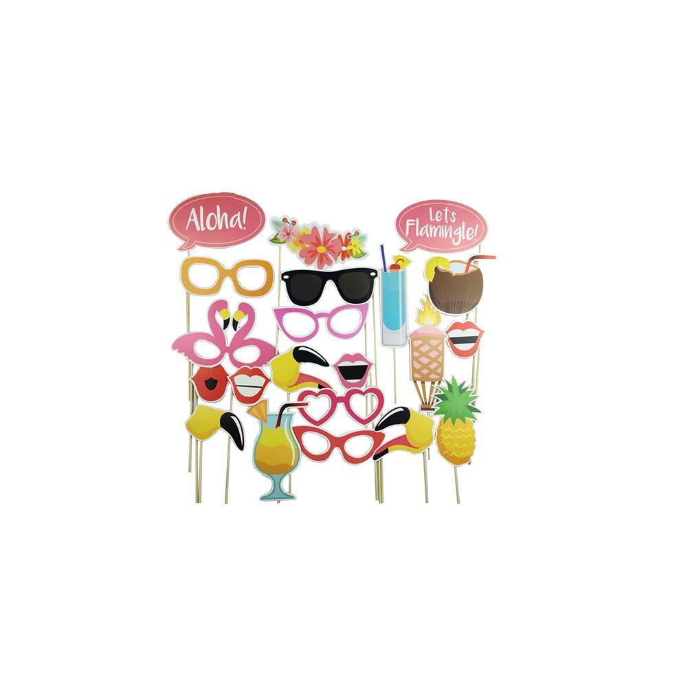 Fiesta de cumplea/ños de la boda del bigote divertido cabina de la foto Happy Party Props apoyo de la foto del partido del favor de la boda Decoraci/ón Kit de Suministros para fiestas de cumpl