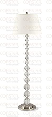 Crystal White Floor Lamp By Coaster Furniture - Floor Lamps With ...