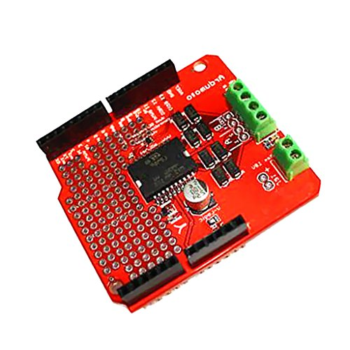 perfk Arduino UNO Mega 2560 L298P / AVR / LPC用モーターシールドL298Pドライバーボード