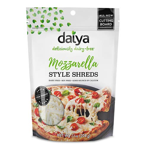Daiya Mozzarella Cutting Board Shreds (4 pack)