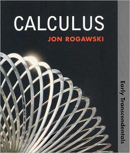 Calculus early transcendentals paper jon rogawski 9781429210744 calculus early transcendentals paper jon rogawski 9781429210744 amazon books fandeluxe Gallery