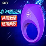 new products KEY Wiley ultra thin Vibrating Ring Charm Ring male vibration ring penis fun ring