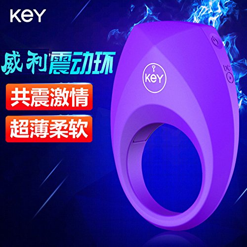 new products KEY Wiley ultra thin Vibrating Ring Charm Ring male vibration ring penis fun ring by MaikasiGifts