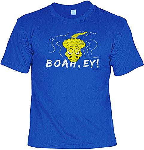 T-Shirt - Krokodil - Boah Ey - lustiges Sprüche Shirt als Geschenk für Leute mit Humor